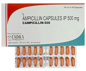 ampicilin 500 mg kapsle